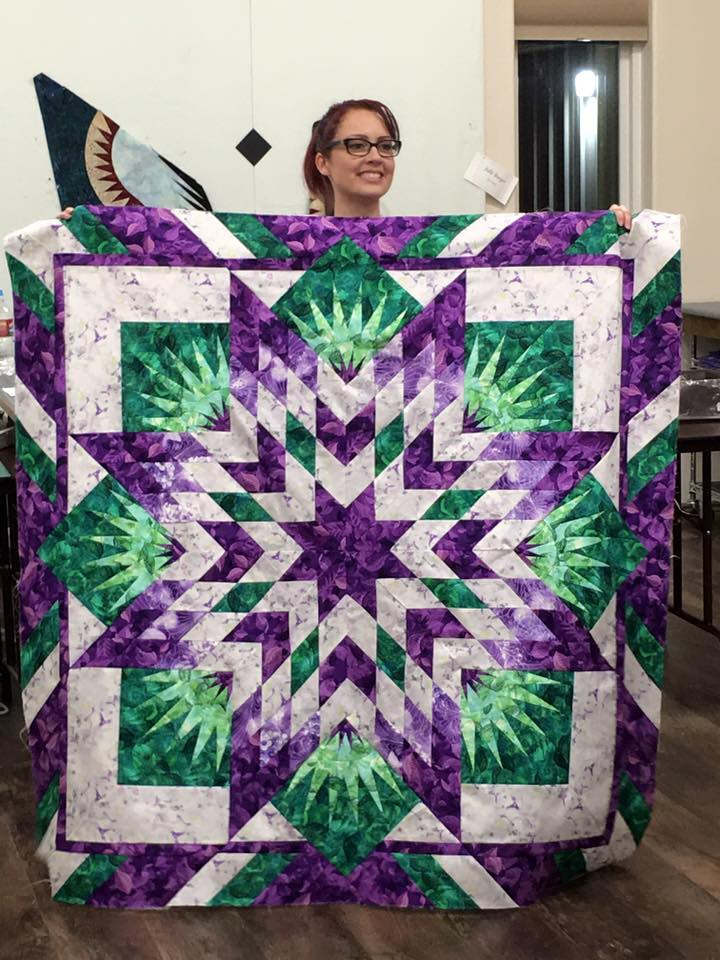 Me and My First Quilt2