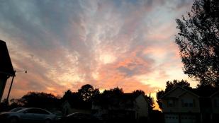 Sunset in North Carolina