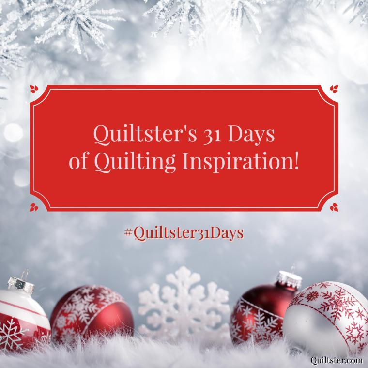 quiltster31days