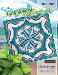 Fire Island Hosta Queen Cover Sheet