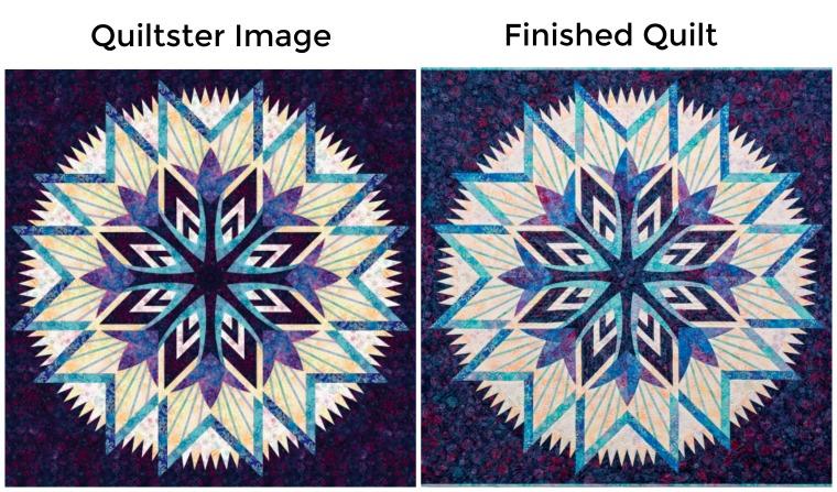 Kaleidoscope Wall Hanging 68 x 68
