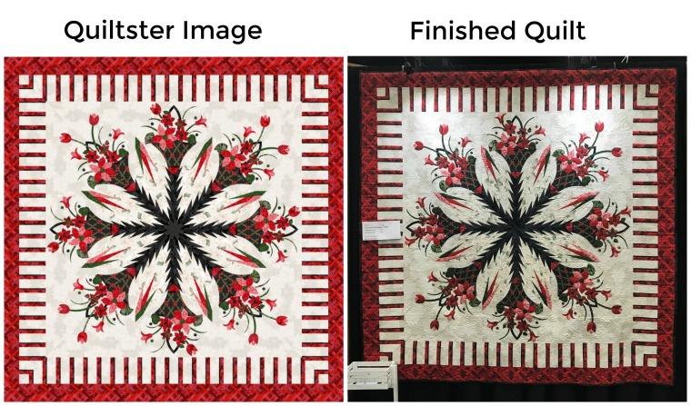 Poinsettia Bouquet in RJR Compare